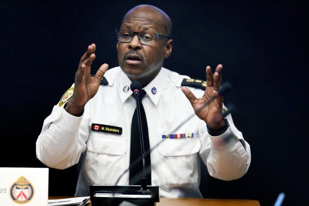 Toronto Police Chief Mark Saunders.