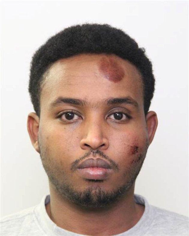 Somali immigrant Abdulahi Hasan Sharif in this police booking photo provided in Edmonton on Oct. 2,