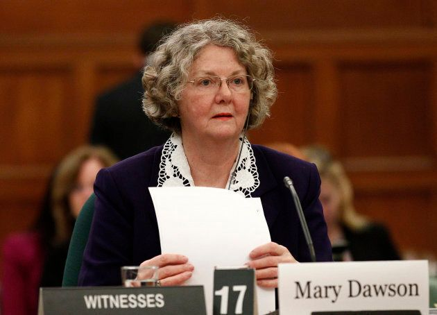 Ethics Commissioner Mary Dawson waits to testify before the Commons ethics committee on Parliament Hill...