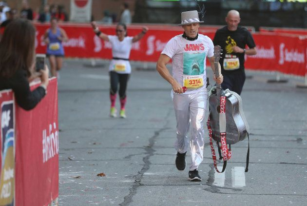 Joseph Reid's run aimed to raise funds and awareness for Gord Downie's Chanie Wenjack
