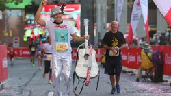 Ontario Dad Runs Marathon Dressed As Gord Downie To Raise