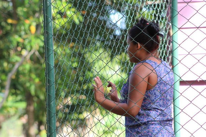 An adolescent girl in Nicaragua now lives in a shelter for girls who have suffered violence or sexual abuse.
