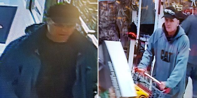 Halifax police shared photos of two men who allegedly stole almost $2,000 worth of merchandise from a...