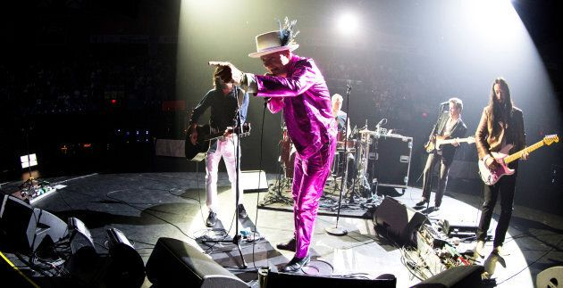 The Tragically Hip performs in Victoria on July 22, 2016.