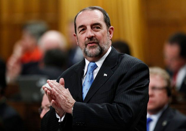 Former Conservative minister Denis Lebel, shown in the House of Commons on Oct. 25, 2012, held the Lac-Saint-Jean...