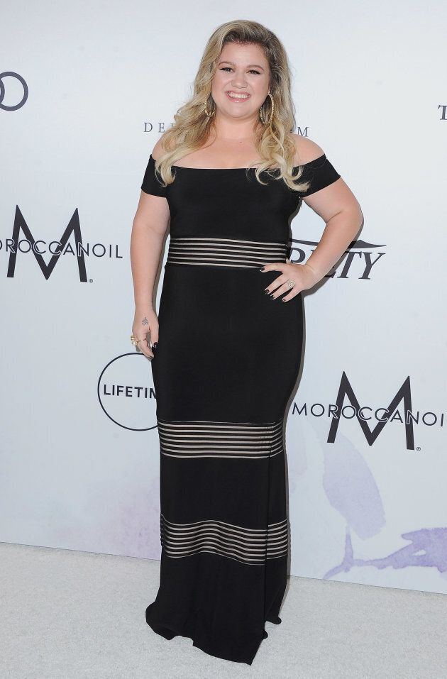 Kelly Clarkson arrives at Variety's Power Of Women: Los Angeles on October 13,