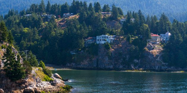 Houses in Horseshoe Bay, West Vancouver, B.C. West Vancouver ranks as the third priciest place for residential...