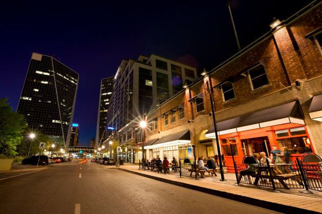 Downtown Regina, Saskatchewan