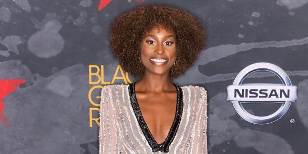 Issa Rae attends Black Girls Rock! 2017 at New Jersey Performing Arts Center on August 5,