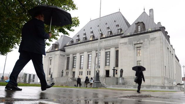 The Supreme Court of Canada building in