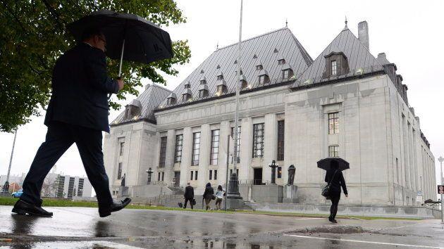 The Supreme Court of Canada building in Ottawa.