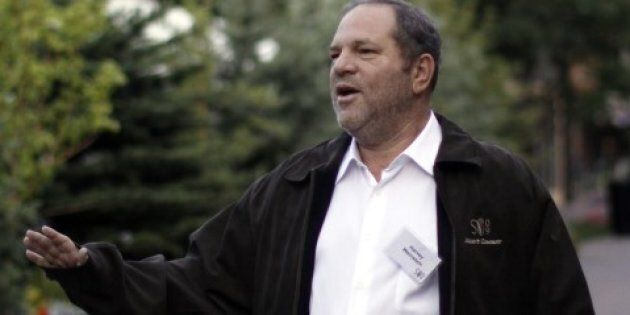 Harvey Weinstein, the former chairman of The Weinstein Company arrives at the Sun Valley Inn in Sun Valley,...