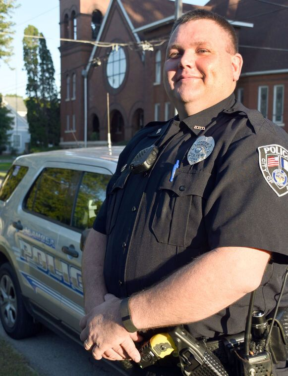 On Sept. 2, 2017, Anamosa Police Officer Mitchell Kelchen was killed in a head-on collision near Bellevue, Iowa in Jackson County.