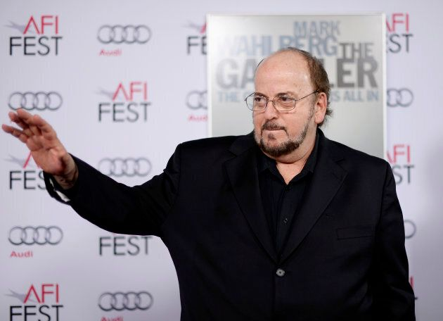 James Toback poses during a film premiere in Los Angeles on Nov. 10, 2014.