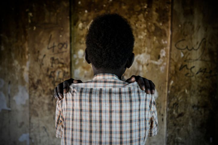 Luny (name changed), 14, was recently released from an armed group in South Sudan. He's seen in the Protection of Civilians (POC) site near Bentiu, in Unity State, South Sudan on Aug. 13, 2016.