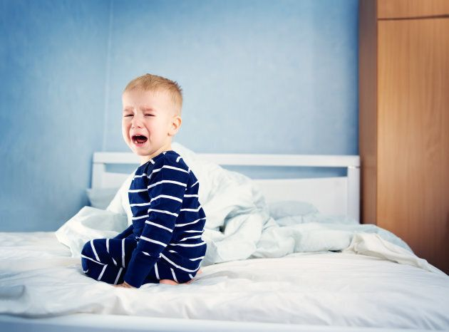 Disrupted sleep schedules can mean cranky babies.
