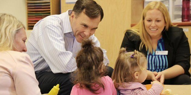 Finance Minister Bill Morneau is seen in a photo from his Facebook page on Oct. 25,