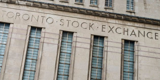 Canada's largest stock index, the Toronto stock exchange, set a record high buoyed by gold and energy...