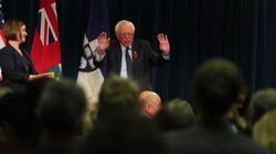 Bernie Sanders Mocks Donald Trump's Grasp Of U.S.