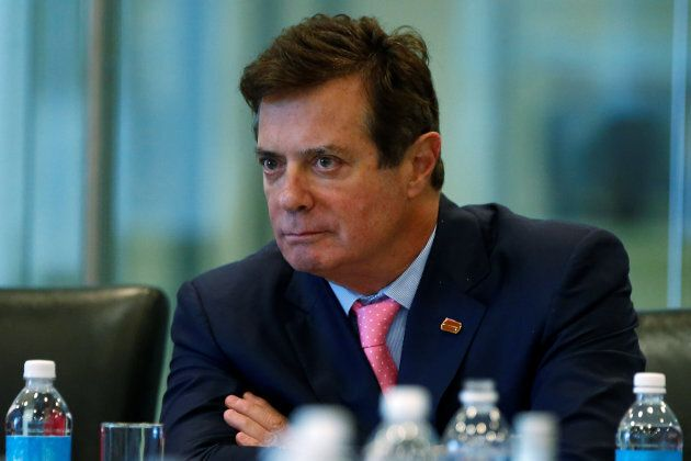 Paul Manafort listens during a discussion on security at Trump Tower in the Manhattan borough of New...