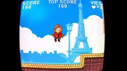 Loiseau a son jeu vidéo (dans lequel Mélenchon joue le méchant
