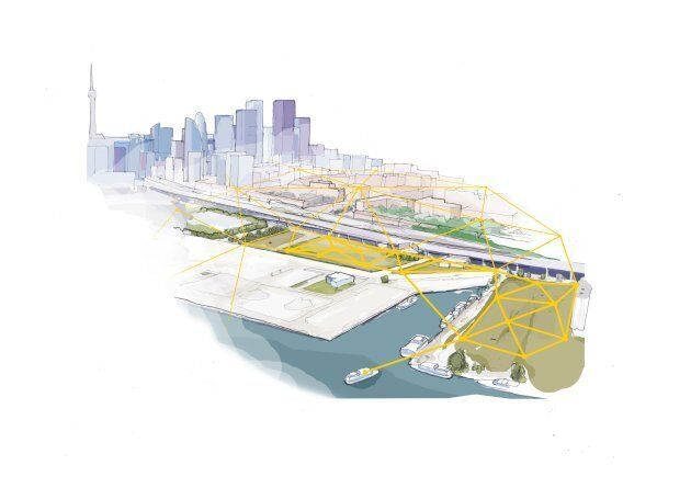 Quayside concept, infrastructure.