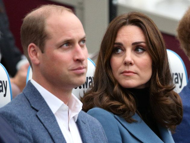 Prince William and the Duchess of Cambridge.