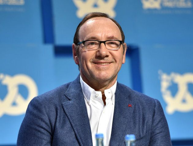 Kevin Spacey during the 'Bits & Pretzels Founders Festival' at ICM Munich on September 24, 2017.