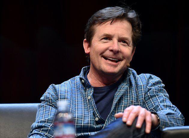 Michael J. Fox at the Silicon Valley Comic Con in San Jose, Calif., March 19,