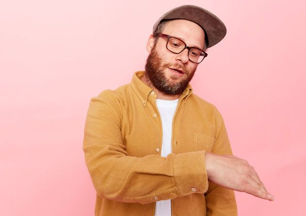 Actor Seth Rogen from Hulu's 'Future Man' poses for a portrait during Comic-Con 2017 at Hard Rock Hotel...