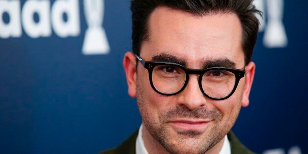Actor Dan Levy attends the 28th Annual GLAAD Media Awards on May 6, 2017 in New