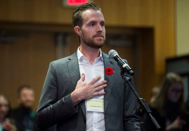 Rebel Media reporter Christopher Wilson got into an exchange with Environment Minister McKenna in Vancouver...