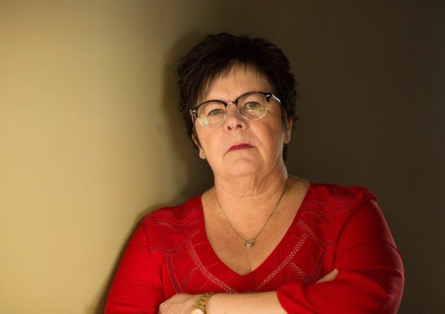 Linda Clayborne, a forensic nurse who is now retired after 32 years, is photographed at her home in Hamilton,...