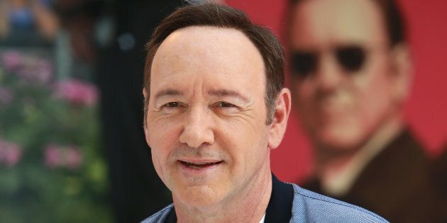 Kevin Spacey attends the European premiere