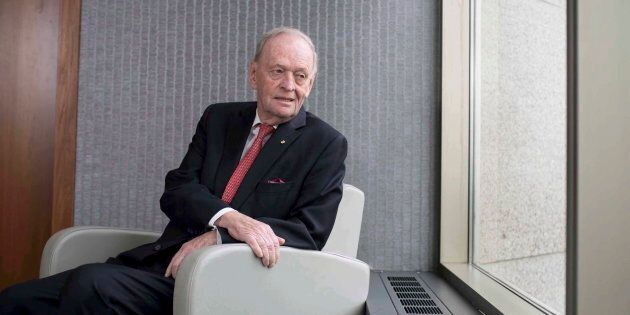 Former prime minister Jean Chretien is seen in Ottawa on March 7,