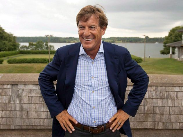 Stephen Bronfman attends the Liberal party's caucus retreat in Georgetown, P.E.I. on Aug. 28,