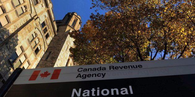The Canada Revenue Agency headquarters in Ottawa on Nov. 4, 2011. The