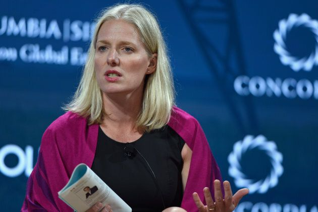 Catherine McKenna, Canadian Minister of Environment and Climate Change speaks at The 2017 Concordia Annual...