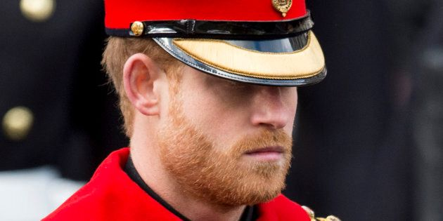 Prince Harry Criticized For Having A Beard During Remembrance Day