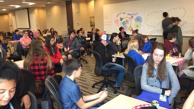 Wisdom2Action seeks to engage youth in decisions and programs that affect their