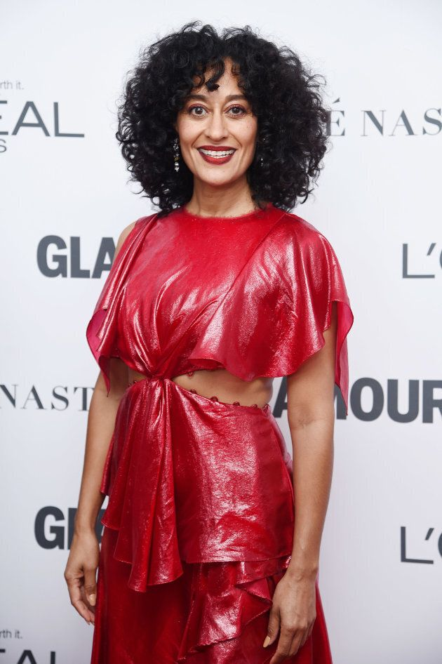 Tracee Ellis Ross attends Glamour's 2017 Women of The Year Awards at Kings Theatre on Nov. 13, 2017 in...