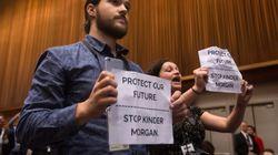 Pipeline Protesters Interrupt Trudeau's UN Summit Press