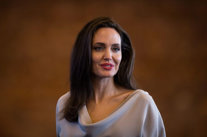 UNHCR Special Envoy Angelina Jolie at the 2017 United Nations Peacekeeping Defence Ministerial conference in Vancouver on Wednesday.