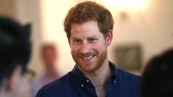 Prince Harry Hands Out Self-Testing Kits To Help End HIV