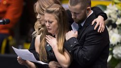 Slain B.C. Officer Honoured By Thousands In Public