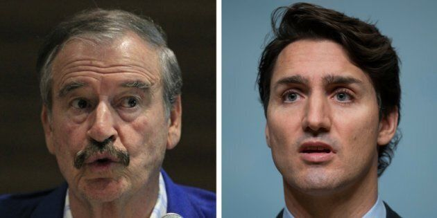 Former Mexican president Vicente Fox is warning Canada not to turn its back on