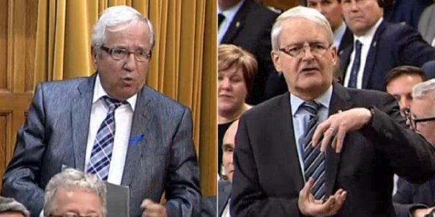 Marc Garneau Hits Bloc MP With Baby Powder