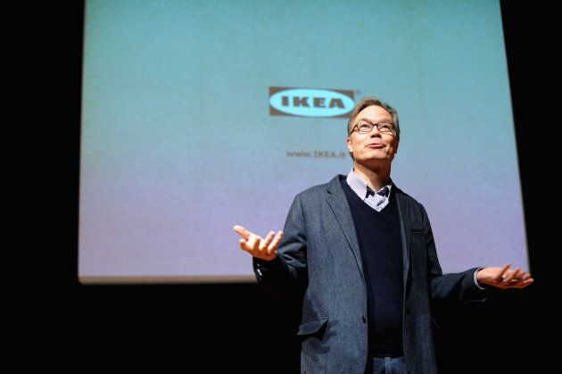 Lars Petersson attends IKEA 2012 annual results on March 25, 2013 in