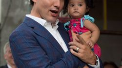 There's A Powerful Feminist Story Behind This Photo Of Trudeau And A