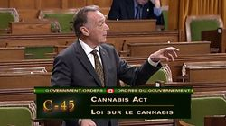 Tory MP Blasted For Suggesting Pot Is 'Just As Dangerous As